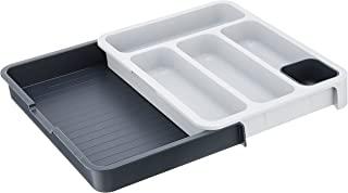 Joseph Joseph 85042 DrawerStore可扩展餐具盘,灰色