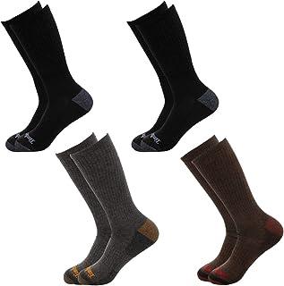 Timberland 添柏岚袜子(4 双)男孩水手袜,儿童袜,户外室内靴袜,正装袜