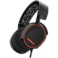 SteelSeries 赛睿 Arctis 5 游戏耳机 RGB灯光,DTS Headphone:X 7.1环绕声 支持…