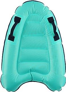 EMVANV 充气冲浪板,带手柄,便携式浮动游泳漂浮冲浪板水上乐趣玩具迷你沙滩冲浪板儿童成人