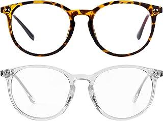 非*透明镜片假眼镜男女复古圆形金属框架眼镜