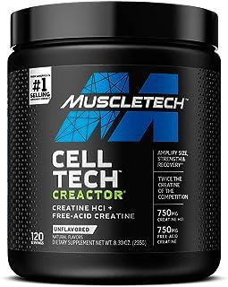 Muscletech Products-Creactor 肌酸配方性能系列得 120 份-7.16 盎司。