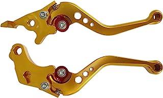 Gxcdizx 新款金数控 6 位置短制动离合器手柄,适用于川崎忍者 650R (ER-6f ER-6n) 2006 2007 2008