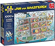 Jumbo 20021 Jan van Haasteren - 邮轮 1000 块儿童*拼图