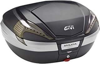 GIVI 后备箱56L TECH 未涂装黑色 碳素风格面板 烟灰镜片 Monokey V56 MAXIA4系列 V56NNT 92358