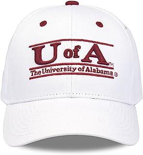 阿拉巴马大学红潮队成人游戏吧可调节帽子 - 白色,
