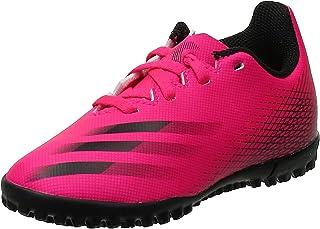 adidas 阿迪达斯 X Ghosted.4 Tf J 中性足球鞋,多色 Rossho Negbás Negbás,欧盟大号