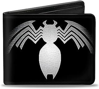 buckle-down MARVEL 宇宙系列钱包 VENOM 胸膛蜘蛛黑色/white-gray 配件