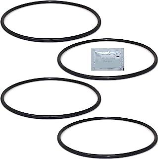 151120 W34-OR O 型环 + 3.86 英寸直径的油脂(4 件装)
