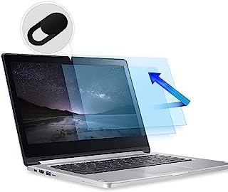 2 件装 13.3 英寸笔记本电脑屏幕保护膜,防蓝光防眩光过滤器,*保护蓝光,防眩光屏幕保护膜,适用于 13.3 英寸 16:9 笔记本电脑,带网络摄像头盖