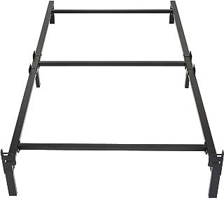 Amazon Basics 6 支腿支撑金属床架 – 牢固支撑的弹簧床垫套装 – 免工具简易组装 – 单人床