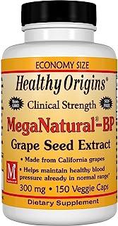 Healthy Origins Mega Natural BP-葡萄籽提取物多种维生素,300毫克,150粒