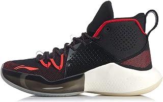 LI-NING 男式 Sonic VI 专业篮球鞋 减震透气低帮运动鞋 ABAN053