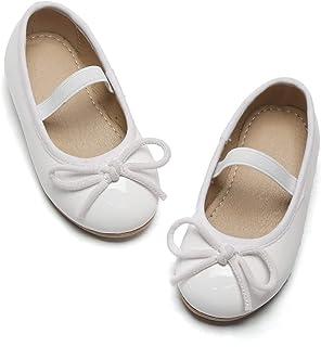 Lily's Girls Gliter 一脚蹬芭蕾平底鞋礼服鞋