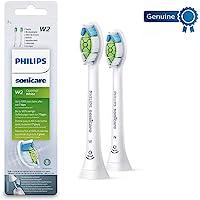 Philips 飞利浦 Genuine Sonicare Optimal 原装白色电动牙刷替换刷头,2件装,白色-HX6…