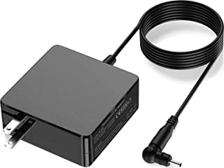 Labradores 65W 45W 快速充电器,适用于华硕笔记本电脑(查看产品详情页面了解兼容型号),笔记本电源适配器 8 英尺(约 2.3 米)