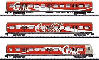 Minitrix 15708 DB 3 件套 乘客车 可口可乐