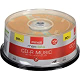 Maxell Music 32x 80 minute / 700MB CD-R Media for Audio - 30…