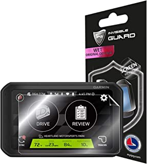 IPG 适用于 Garmin 佳明 Catalyst ,驾驶性能优化 6.95 英寸屏幕保护膜隐形超高清透明膜防刮皮肤保护 - 光滑/自我修复/无气泡
