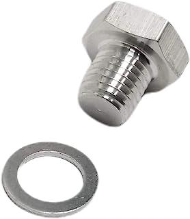 Z Whip M12 1.5 LS 冷却剂温度传感器插头圆筒头温度水铝六角插头公制螺纹 LS 交换 LS1 LSX LS3 Vortec 5.3L 5.7L 6.0L 6.2L LQ4 L76 M12-1.5 M12x1.5
