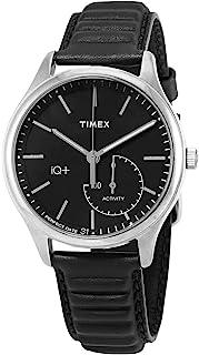 Timex 天美时 IQ+ 石英黑色表盘男式手表 TW2P93200