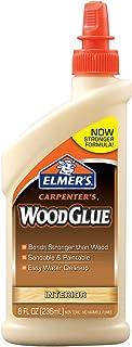 Elmer's E7010 木匠的木胶,室内装,8盎司,236毫升