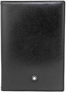 MONTBLANC 男式 Meisterstück 护照夹,通用,黑色,3.9 英寸 x 5.5 英寸