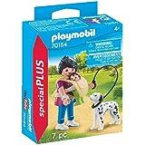 Playmobil 摩比世界 70154 玩偶特别版 妈妈 宝宝与和狗,彩色