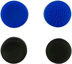 YoK PlayStation 4 只装 4 个专业握把,兼容 PS4 双震控制器 - 蓝色和黑色