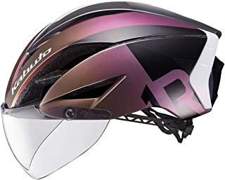 OGK kabuto 头盔 AERO-R1 CVTR G-1转紫色 L/XL