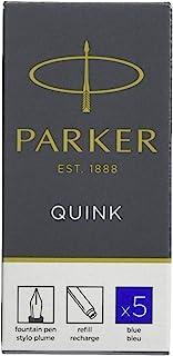 Parker 派克 墨水囊 QUINK 黑色 1950382 parent 本体サイズ:75mmx7mm/10g 蓝色