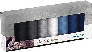 amann SE8冬季 - KIT 缝纫线盒, seralon, 8 x 200米, winterfarben