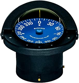SS-2000 Ritchie Navigation Supersport Compass 4 1/2-Inch Dial with Flush Mount (Black)
