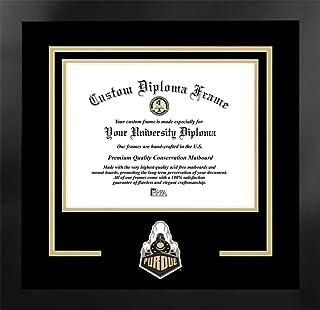 Campus Images NCAA 中性精神文凭曼哈顿黑框附赠平版版画(超值节省 59 美元)