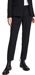Vince 女式柔软剪裁长裤,黑色,0