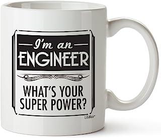 工程师礼物 情人节礼物 男友 女友 生日 工程 女款 男款 工程师 成人 有趣 *好的炫酷 怪物 学生有趣 新颖 创意学生 极客 学院 马克杯 Prime