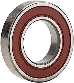 NTN 轴承 6303LLUC3/EM 单排深槽径向滚珠轴承,电动机质量,接触式,C3 间隙,钢笼,17 毫米孔径,47 毫米外径,14 毫米宽,双密封