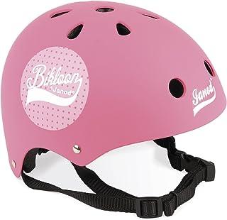 Janod 儿童头盔,适用于自行车/平衡自行车 1 year to 6 years 粉色圆点