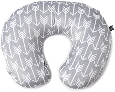 Premium Nursing Pillow Cover | Arrow Pattern Slipcover | Best for Breastfeeding Moms | Soft, Breathable Fabric Fits Snug On Nursing Pillows to Aid Mothers While Breast Feeding | Great Baby Shower Gift Arrow Minky 均码
