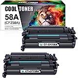 Cool Toner 兼容硒鼓替换件 适用于 HP 58A CF258A 58X CF258X 硒鼓 HP Laserj…