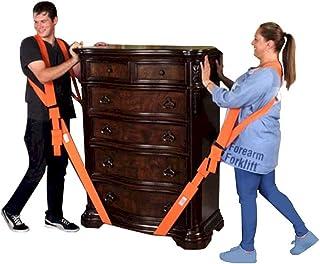 Forearm 叉车 FFMCVP 2 人肩提升和移动系统,适用于家具、家电、床垫或重物重达 80 磅(约 362.9 公斤),橙色