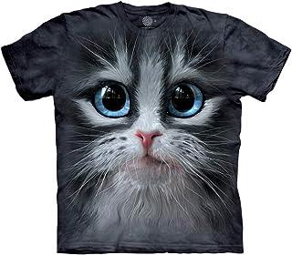 The Mountain 儿童可爱派小猫 T 恤