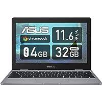 Google Chromebook ASUS 笔记本电脑 C223NA(11.6英寸, 999克, 约11.3小时/英特…