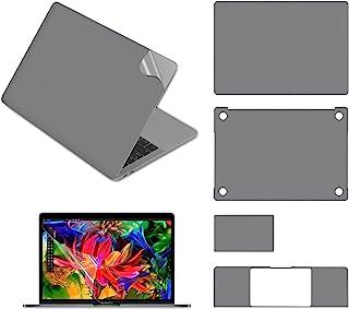 Pwkutn 5 合 1 笔记本电脑全身保护皮肤贴花贴纸适用于 MacBook Air 13 英寸带 (A2179 2020 发行) 太空灰
