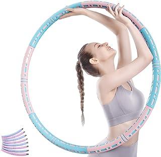 Hula_Hoops,加重运动健身圈,健身呼啦圈,锻炼健身圈,可拆卸健身圈,适合成人锻炼,多组装设计,专业健身圈带来完美身材