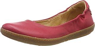 EL Naturalista 女式 N5300 Dolce Geranio/珊瑚色封闭式芭蕾平底鞋