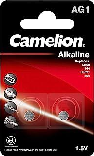 Camelion 120 50201 AG 1 LR60 电池 – 多色(2 件装)
