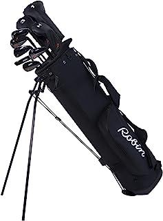 Robin Golf The Essentials 女士套装 - 完整高尔夫球杆适合女士 5'2''-5'10'',哑光黑