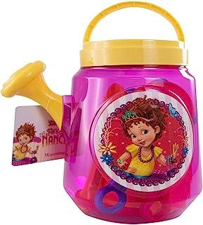 Disney 迪士尼少女可爱浇水桶沙滩玩具配件套装适合 3 岁以上女孩 换档铲 Rake 沙模 夏季度假游泳活动派对礼品套装 - 沙滩玩具系列