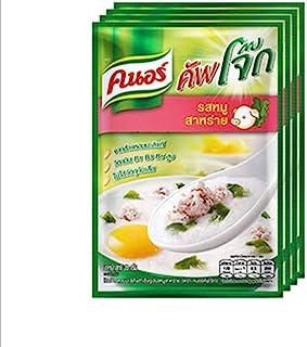 Knorr Cooked 泰国茉莉米粥(4包),猪肉味,35克